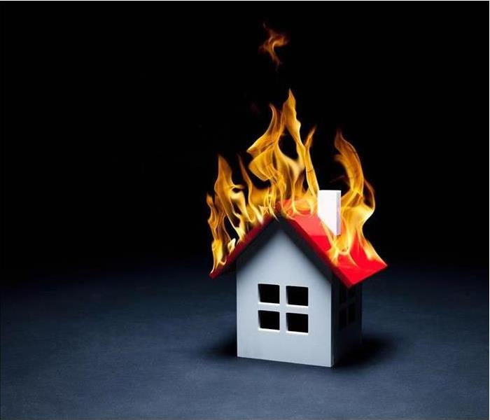 Fire Damage Cooler Weather Means an Increase in House Fires